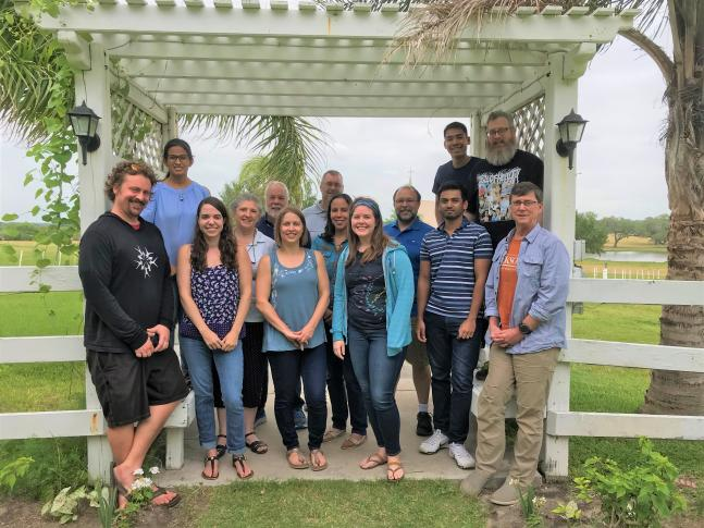 GRIIDC Team at a staff retreat in 2018
