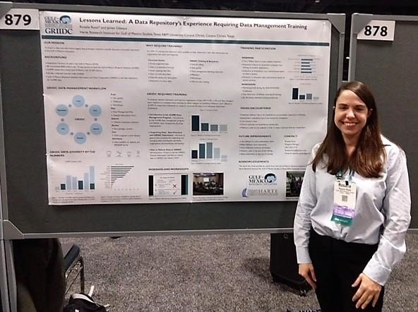 Rosalie Rossi at AGU Meeting in D.C